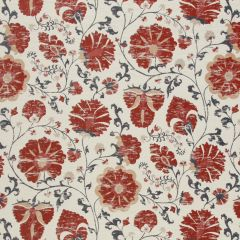 Faded Floral   Lacquer Red