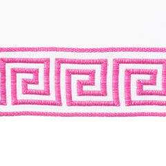 Greek Key Braid | Fuchsia