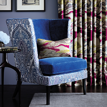 Drenched Color Fabric Collection