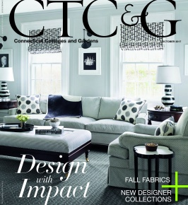 Connecticut Cottages & Gardens October 2017