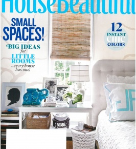 House Beautiful July/August 2015: Leandro Stripe