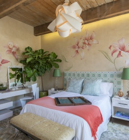 Campion Platt's Master Bedroom at Hamptons Holiday House