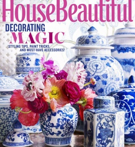 House Beautiful June 2015: Soft Squares