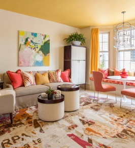 A Bright Breakfast Room by Theodore & Company