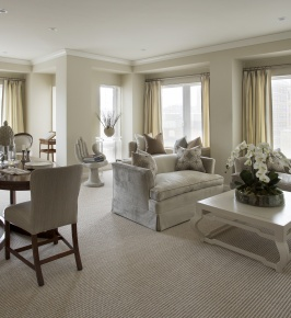 Mandarin Oriental, Boston Model Unit by Theodore & Company