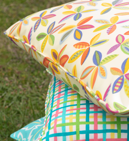 Spring RE-awakening! April Showers Begone! - May Fabric Trends