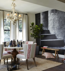 Living Room and Game Room by Piper Gonzalez Designs