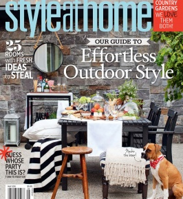 Canada's Style at Home May 2015: Open Air Collection