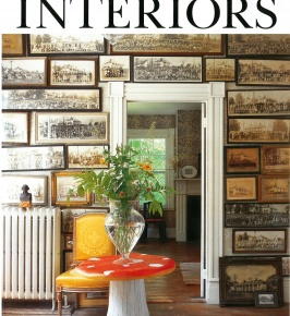 The World of Interiors November 2015: Oasis Stitch in Mint