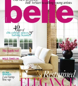 Belle Magazine October 2015: River Current & Rosario Velvet