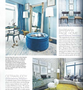 New York Cottages & Gardens October 2014: Robert Allen Showhouse Collaboration