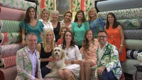 Front Door Fabrics and Interiors trunk show debuting the new Madcap Cottage