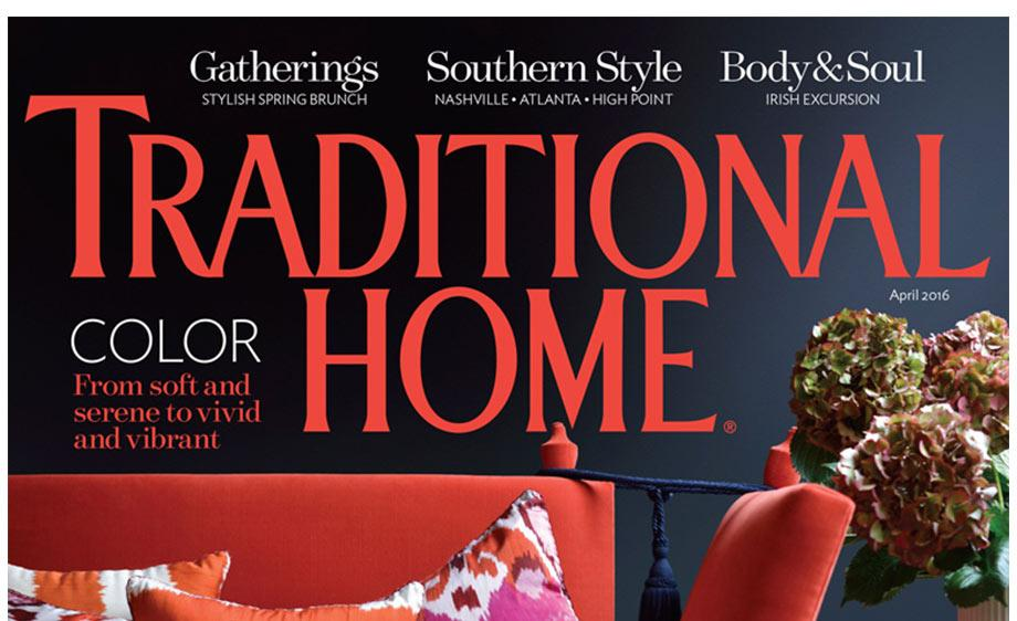 Into the Garden Featured in Traditional Home