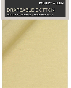 Drapeable Cotton