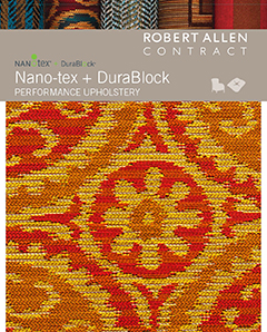 Nano-tex and Durablock Performance Upholstery