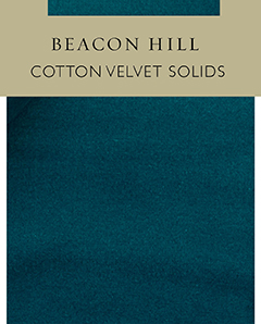 Cotton Velvet Solids