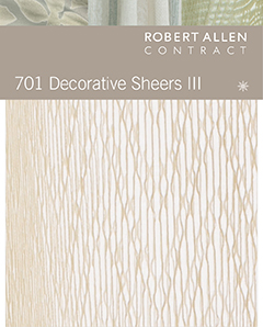 701 Decorative Sheers III