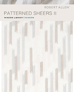 Window Library: Patterned Sheers II