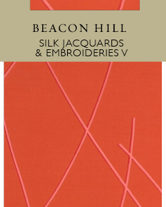 Beacon Hill Silk Jacquards & Embroideries V