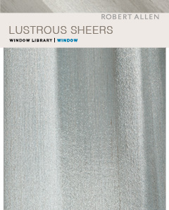 Window Library : Lustrous  Sheers