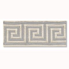 Greek Key Braid | Silver