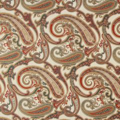 Paisley Cove | Lacquer Red