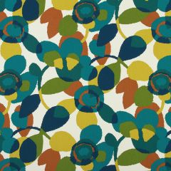 Abstract Flora   Turquoise