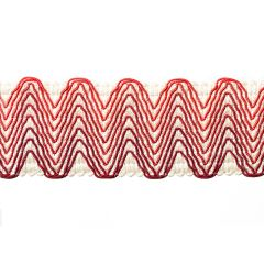 Chevron Band | Lacquer Red