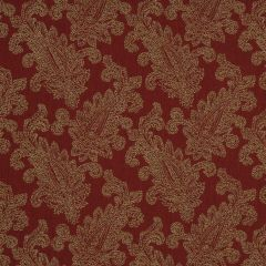 Paisley Puff | Red Hot