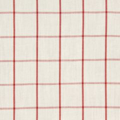 Linseed Plaid | Coral