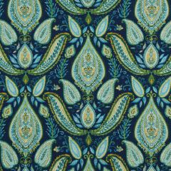 Ombre Paisley | Ultramarine