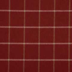 Helios Plaid | Classic Crimson