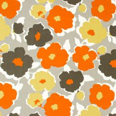 Top Floral | Orange Crush