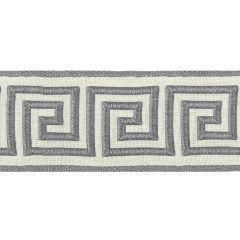 Greek Key Braid | Zinc