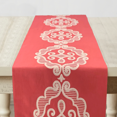 Table Runner   Coral