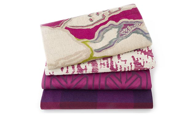Drenched Color Beet Fabrics
