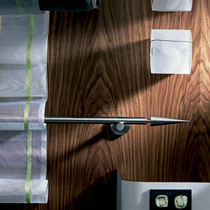 Modulo Solid Stainless Drapery Hardware