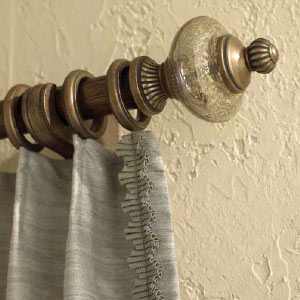 Casual-Elegance Drapery Hardware