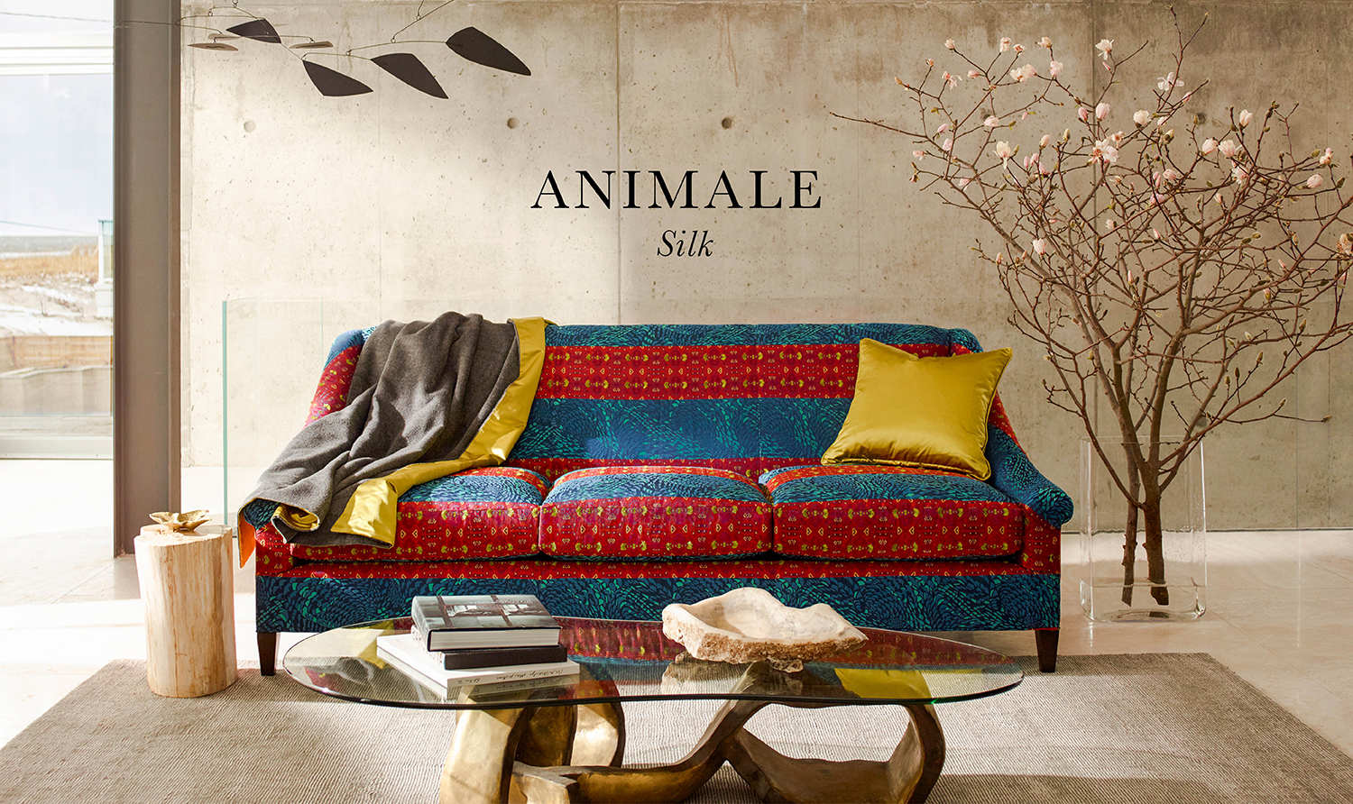Animale solida Fabric Collection