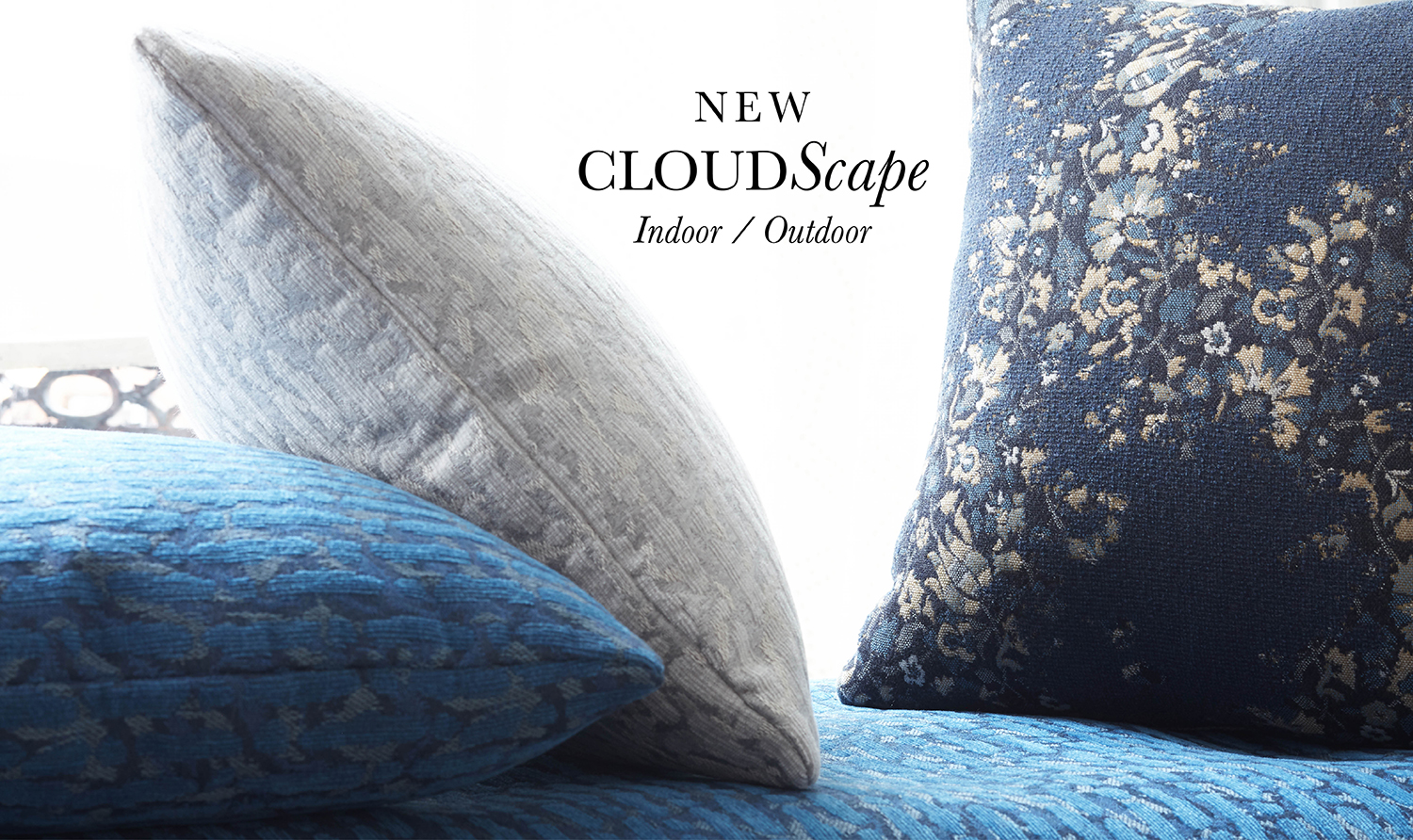 Cloudscape solida Fabric Collection