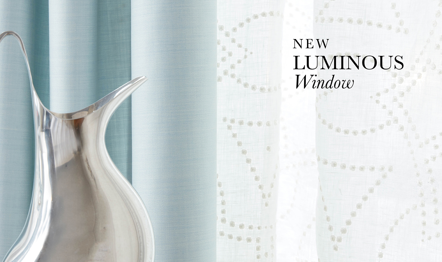Luminous Windows solids Fabric Collection
